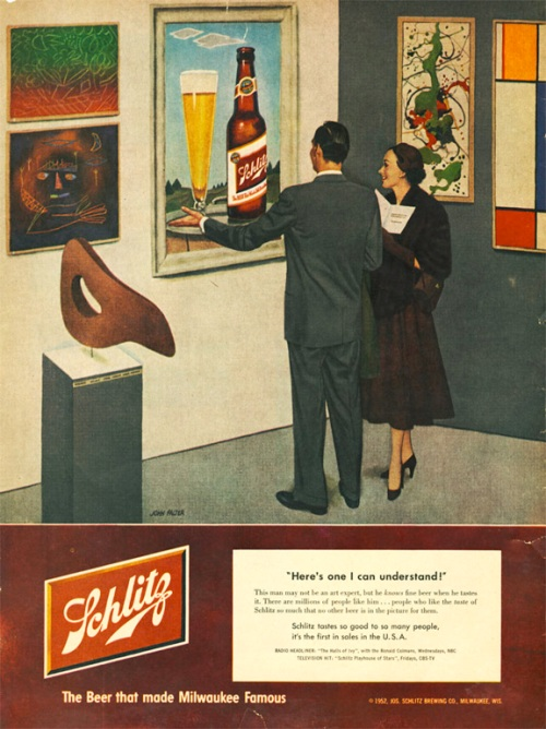 1952-schlitz-beer-ad-with-a-modern-art-reference
